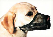 Coastal Best Fit Mesh Adjustable Breathable Dog Muzzles BLACK 10 SIZES!