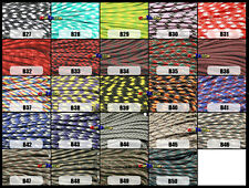 CAMO Paracord 550 Parachute Rope 7 Core Strand 100FT For Climbing Camping
