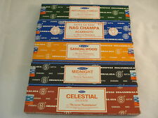 40 Grams of nag champa pick your scent fro (5) scents satya sai baba  from inda