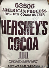 5 Pounds Hershey's Cocoa Powder 10%-13% Cocoa Butter