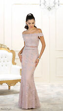 MOTHER of the BRIDE GROOM PLUS SIZE FORMAL EVENING GOWN JACKET LONG CRUISE DRESS