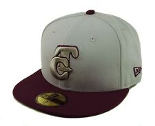 NEW ERA 5950 MEXICAN LEAGUE TOMATEROS DE CULIACAN BASEBALL CAP GRAY MAROON HAT