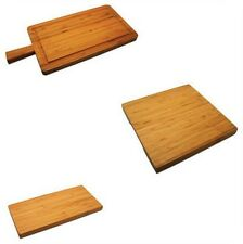 Grunwerg Commichef  Bamboo Paddle Board Chopping Serving & Platter Boards