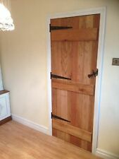 "Solid Oak Ledged doors 2'6"" 2'9"" 762mm 838mm new hand made"
