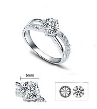"ViVi ""H & A "" Signity Star Diamond Ring 8442a"