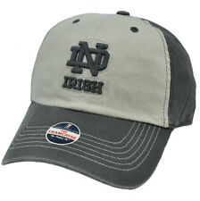 NCAA Notre Dame Fighting Irish Grey Coal Freshman Franchise Cap Hat Garment Wash