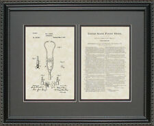 Patent Art - Stethoscope - Doctor Nurse Physician Practitioner Print Gift F7487