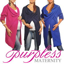 New MATERNITY CARDIGAN Pregnancy Coat Wear Size 8 10 12 14 16 18 Top Cardi 9001