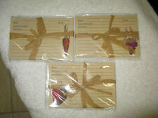 RECIPE CARDS 24 PER PACK STRAWBERRY-CARROT-GRAPE-WRAPPED AND READY FOR GIVING