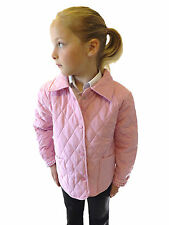 Campbell Cooper Brand New British Girls Coat Pink Horse Pony Riding Jacket