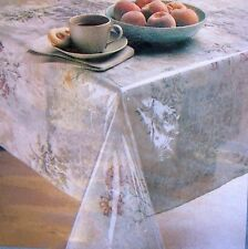 Heavy Window Crystal Clear Vinyl Tablecloth Protector Cover (not plastic)