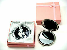 MARILYN MONROE VINTAGE STYLE HANDBAG COMPACT MIRROR WITH FREE GIFT BOX