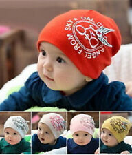 Kids Children Boys Girls Baby Angel wings Skull Ski Beanie Hat Cap 10mths-4yrs