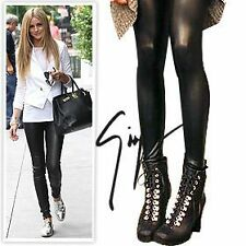 FAUX SNAKE SKIN LEGGINGS spandex gloss leather celebrity sickdress FREE SHIPPING