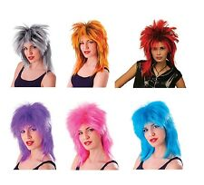 1980s #CELEBRITY TINA TURNER ALL COLOUR WIGS FANCY DRESS COSTUME ACCESSORY
