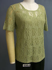 BFA CLASSICS FRONT Lined Stretch Lace TOP! NEW! Lots of Colors, sizes! WOW!!
