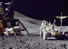 LUNAR ROVER ON THE MOON GLOSSY POSTER PICTURE PHOTO earth planets space mars 27
