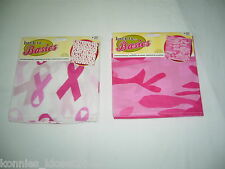 PINK RIBBON BANDANA - BREAST CANCER AWARENESS - YOU CHOOSE DESIGN (NWT)