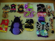 NEW Pet Dog HALLOWEEN Costumes & Flossy Chews - Fairy,Fireman,Bumble Bee,Spider