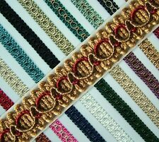 Braid Gimp Trim edging 15mm wide 1 metre upholstery craft - choice of 22 colours