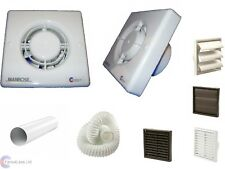 Manrose XF100S On/Off Toilet Extractor Bathroom Fan With or Without Kit 100mm 4""