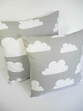 Farg & Form Clouds Scandinavian Vtg/Retro Kids Childrens Fabric Cushion Cover GR