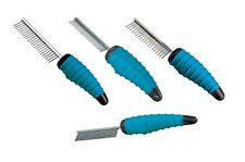 Ergonomic Shedding Combs for Dogs - Professional Dog Grooming Comb - Kits Too!