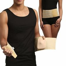 UMBILICAL HERNIA BELT Abdominal Binder, Navel Truss with Bandage, Support Wrap