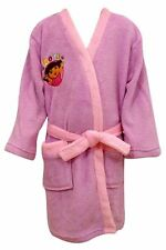 Dora The Explorer Dressing Gown girls pink 18 month to 5 years