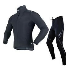 Sobike New Black Winter Jacket-Alien Fleece Cycling Suits Fleece Tights-Cruise