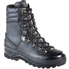 Lowa Combat GTX Gore-tex Waterproof Military Cadet Police Walking Black Boots
