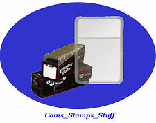 1 Plastic Slab Holder with white insert (BCW) You Choose Coin Size
