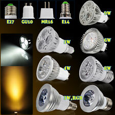 LED MR16 GU10 3W 4W 6W 8W 9W HIGH POWER Lampe Strahler Licht Leuchte Warmweiss