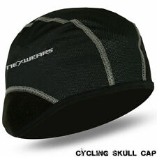 Cycling Skull Cap Under Helmet Motorbike Cycle Thermal Windstopper S, M,  L, XL