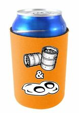 Coolie Junction Kegs and Eggs Funny Beer Can Coolie