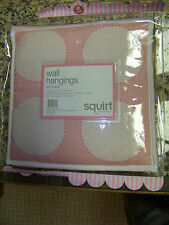 Babylicious Squirt Pink Change Pad Wall Hanger Musical Mobile Lamp Shade Nursery