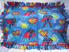 FLEECE THROW BLANKET: SUPERMAN / TOY STORY / HELLO KITTY Handmade No-Sew USA