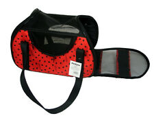 Pet Carrier Stylish Travel Cat Dog Puppy Carrier Foldable Bag Airline Approved