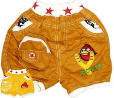 New Super Cute Cool Boys Childrens Stylish Funky Gaming Angry Birds Stars Shorts
