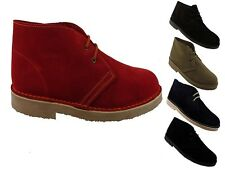 MENS NEW SUEDE DESERT BOOTS ASSORTED COLOURS SIZES 6 7 8 9 10 11 12 13 14 15
