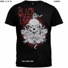 "BLACK TIDE - T-SHIRT - LIVE FAST, DIE YOUNG - HEAVY METAL - ""S,M,XL""- NEW"