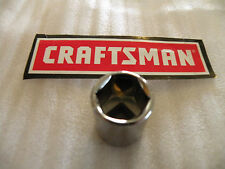 "NEW CRAFTSMAN 3/8"" Drive Dr - METRIC mm SHALLOW SOCKET 6 Pt Point 6pt - ANY SIZE"