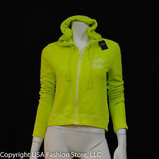 Hollister by Abercrombie Women's Hoodies Hammerland Neon Green NWT
