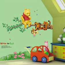 Disney Winnie Pooh Tree Home Wall Mural Window Decals Stickers Decor Removable