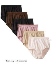 10 pack Just my Size 100% Cotton briefs - Style 1610 -  Featuring Assorted
