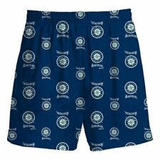 Seattle Mariners MLB Youth Pajama Shorts New With Tags