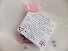 Flower Girl Survival Kit, Thank You gift and card. Novelty wedding present.