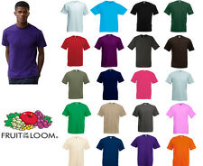Fruit Of The Loom valueweight Tee Todos Los Colores Y Tamaños
