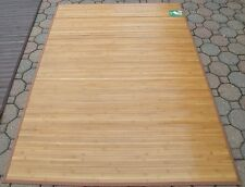 4 X 6 ft. Natural Bamboo Area Mat (Available in 6 Different Patterns & Colors)
