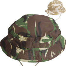 NEW Kids Childs Childrens British Army Special Forces Bush Hat Cap in DPM Camo